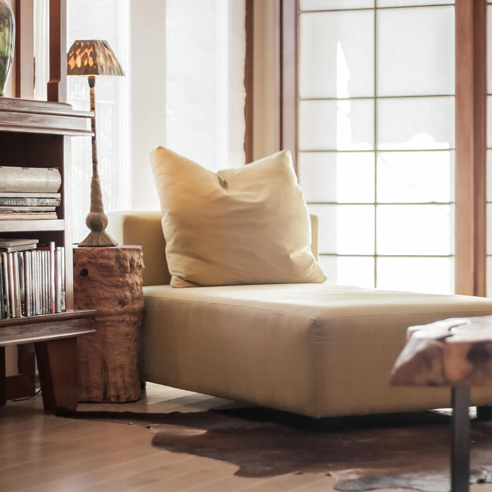 Baillargeon Residence-Living room