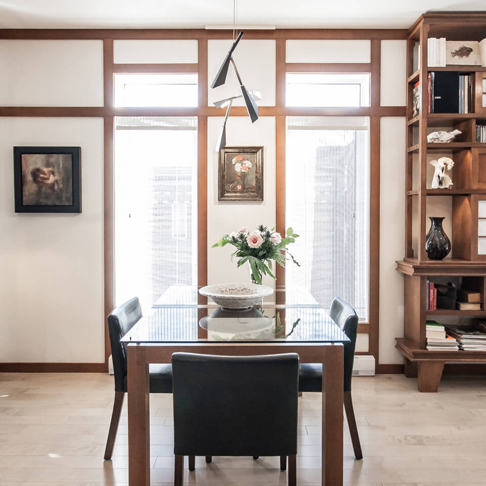 Baillargeon Residence-Dining room