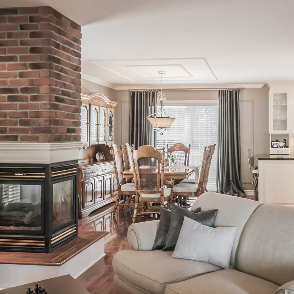 Boucher Residence-Living room