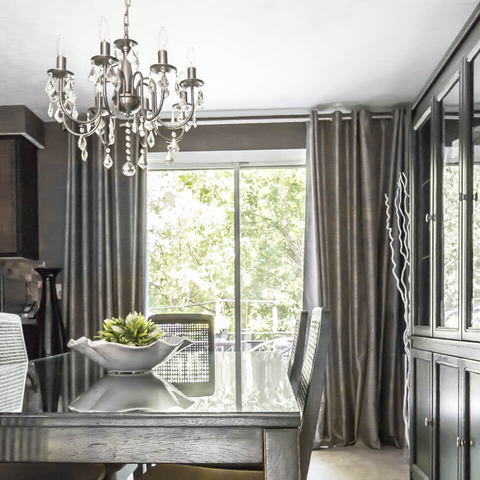 Bourgault Residence-Dining room