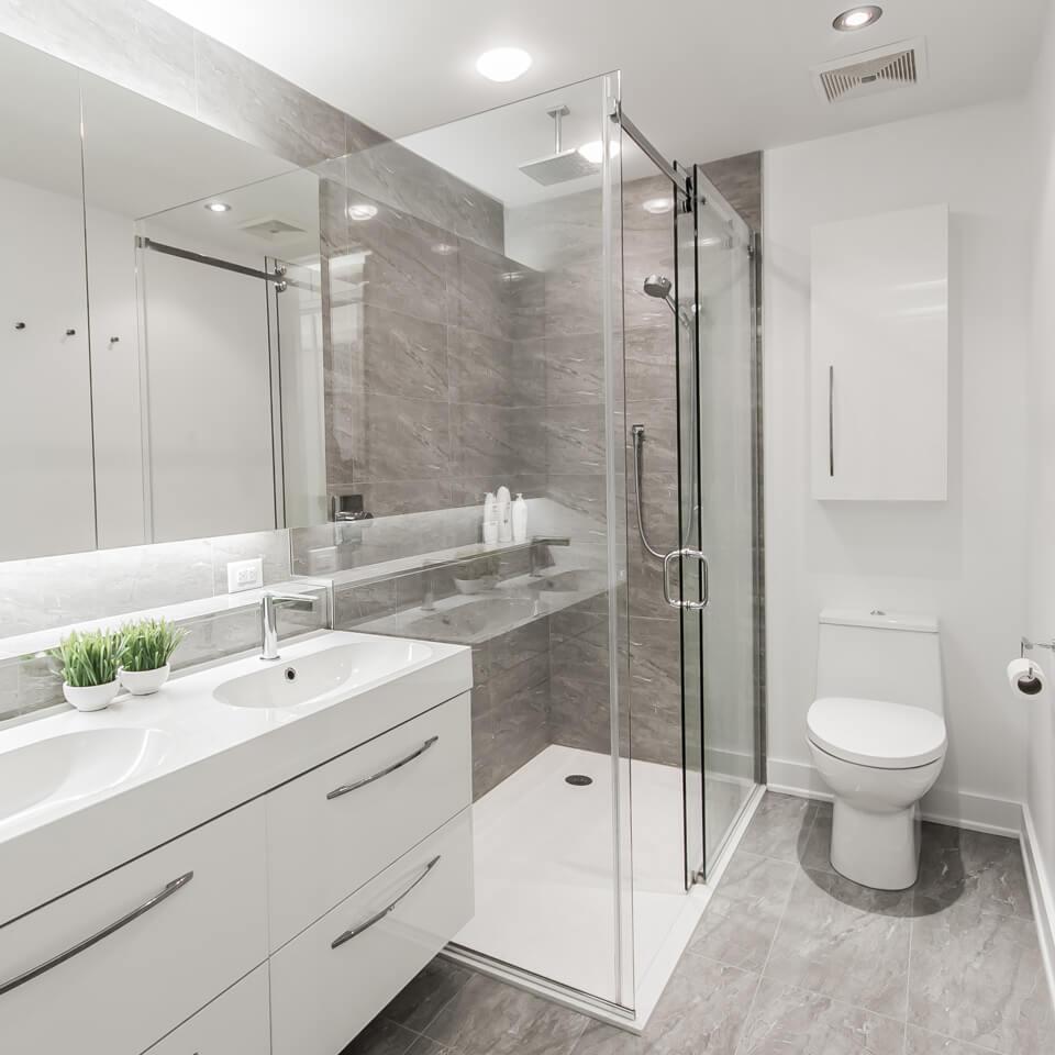 Résidence Dorion-Salle de bain