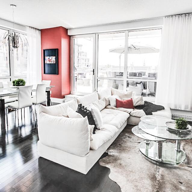 Fugère Residence-Living room