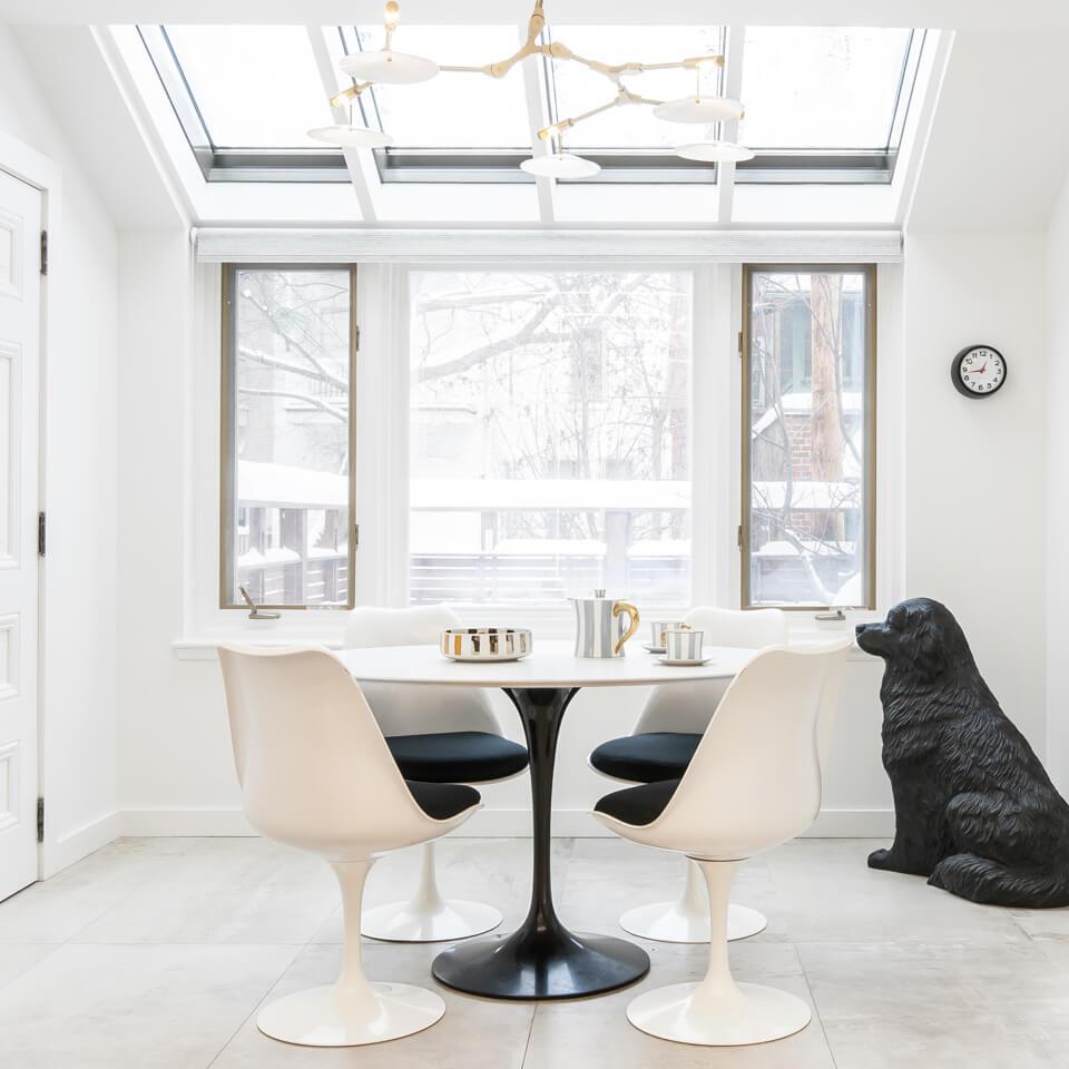 Klein Residence-Dining room