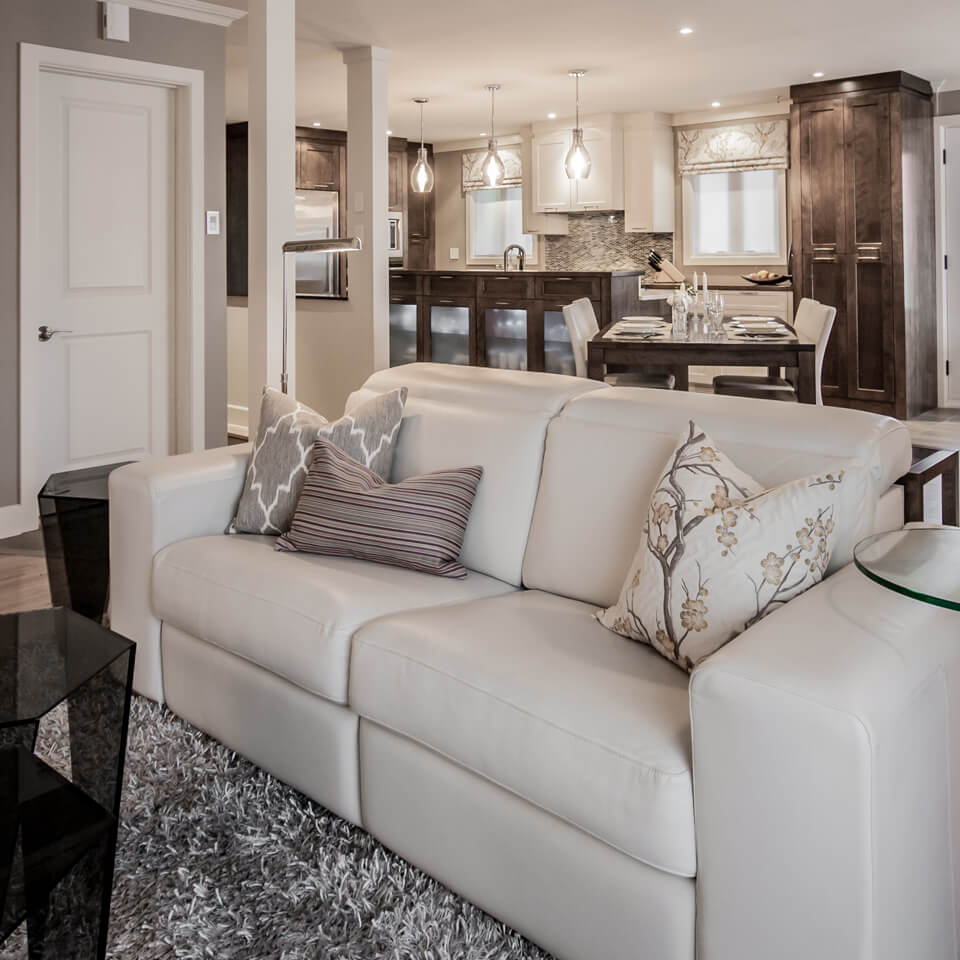 Taillefer Residence-Living room
