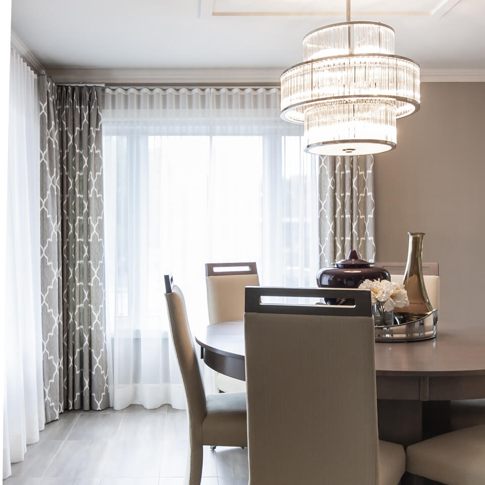 Taillefer Residence-Dining room